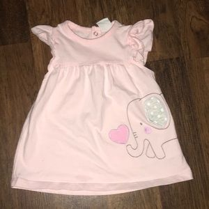 Baby girl light pink top